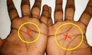 Tylko 3 procent ludzi ma literę X na obu dłoniach! Wiecie, co to oznacza?