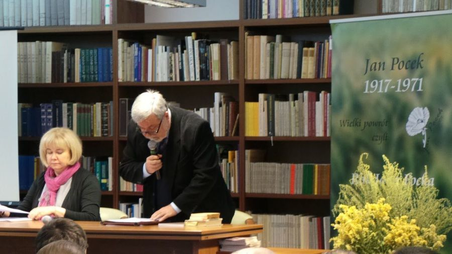 """Konferencja naukowa: """"Jan Pocek. Ponadczasowy wymiar dzieła literackiego"""""""
