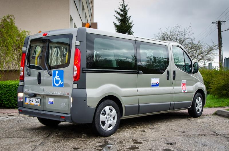 Bardzo dobra Nowy samochód do przewozu osób niepełnosprawnych | Gmina Niemce VJ08