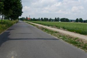 Budowa ścieżki rowerowej Pólko - Nasutów