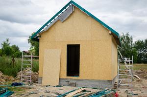 Budowa mini świetlicy w Osówce