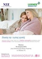 Badania mammograficzne Luxmed