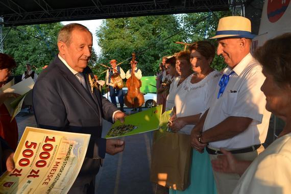 Laureaci konkursów - Dożynki Powiatowe Gołąb 2017