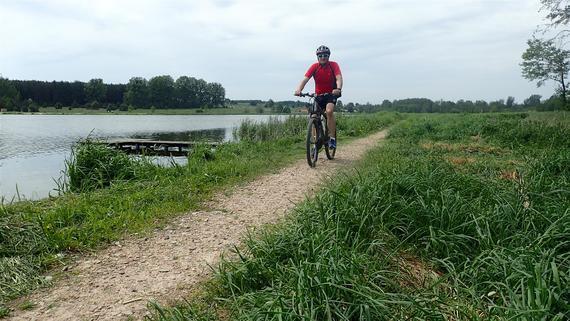 Rowerem nad Zalew w Janowicach