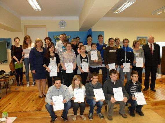 XI Międzyszkolny Konkurs Wiedzy o Unii Europejskiej