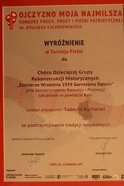 Koncert Chóru Dziecięcego GRH w Lublinie