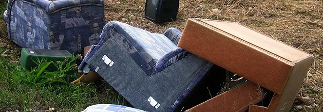 Ogłoszenie o zbiórce odpadów wielkogabarytowych, zużytych opon oraz  zużytego sprzętu elektronicznego - Październik