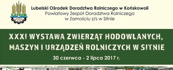 Zaproszenie na Wystawę LODR w Sitnie