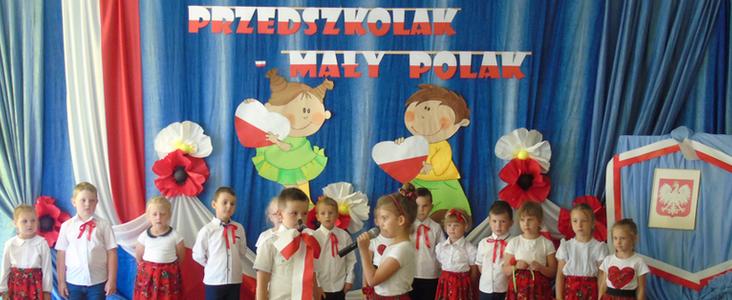 """Przedszkolny konkurs recytatorski """"Przedszkolak – Mały Polak"""""""