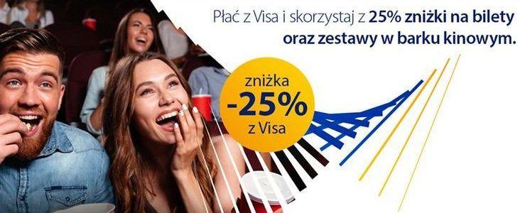 Zniżka -25% z Visa