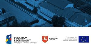 Budowa budynku Gimnazjum w miejscowości Borzechów Kolonia - etap robót wykończeniowych i wyposażenia obiektu