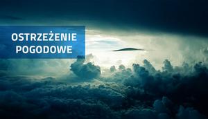 OSTRZEŻENIE O BURZACH Z GRADEM z dn. 12.07.2016
