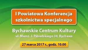 I powiatowa Konferencja szkolnictwa specjalnego