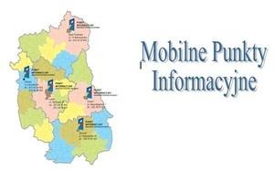 W ramach Mobilnych Punktów Informacyjnych Funduszy Europejskich konsultanci z Urzędu Marszałkowskiego Województwa Lubelskiego odwiedzają poszczególne gminy regionu
