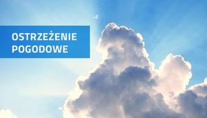 PROGNOZA NIEBEZPIECZNYCH ZJAWISK METEOROLOGICZNYCH z dn. 30.07.2017 r.