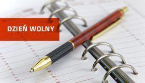 Uprzejmie informujemy, że w dniu 12 listopada 2018 roku Urząd Gminy w Borzechowie będzie nieczynny.