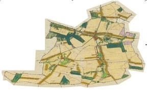 OBWIESZCZENIE  przystąpieniu do  sporządzenia miejscowego planu zagospodarowania przestrzennego Gminy Borzechów dla fragmentu miejscowości Kępa Borzechowska