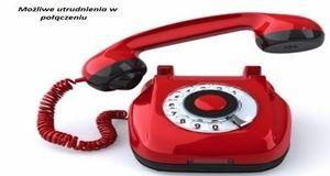 Utrudnienia w kontakcie telefonicznym z Urzędem Gminy