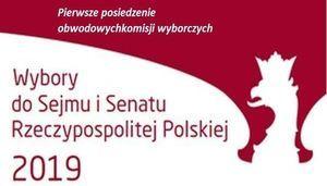 Pierwsze posiedzenie obwodowych komisji wyborczych