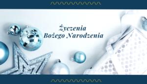 Życzenia Bożego Narodzenia