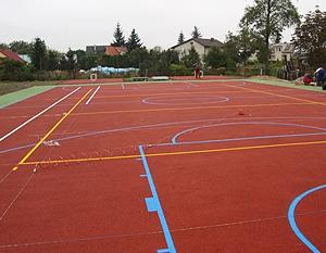 Budowa kompleksu sportowego w osiedlu Mierzwiączka