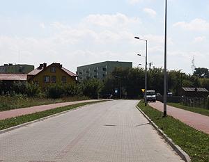 Budowa oświetlenie drogowego w łączniku ul. Sienkiewicza z ul. Krzywą