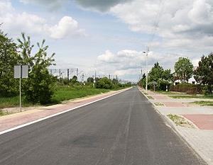 Kompleksowa przebudowa infrastruktury drogowej od drogowej od drogi krajowej nr 17 do drogi krajowej nr 48 w miastach Ryki i Dęblin.