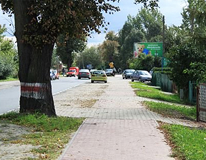 Modernizacja chodnika w ul. Stężyckiej