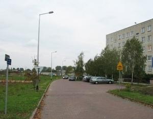 Rozbudowa oświetlenia drogowego osiedla Wiślana w Dęblinie o długości ok. 315 m.