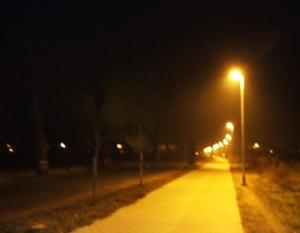 Budowa oświetlenia ścieżki rowerowej z chodnikiem wzdłuż ulicy Stężyckiej i Mickiewicza o długości ok. 780 m.