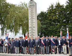 Dęblińscy Seniorzy Lotnictwa Wojskowego w Northolt.