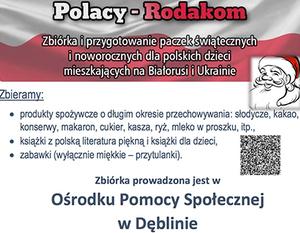 POLACY - RODAKOM - ZBIÓRKA I PRZYGOTOWANIE PACZEK ŚWIĄTECZNYCH
