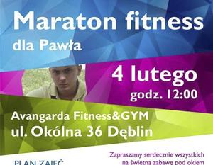 Maraton fitness dla Pawła