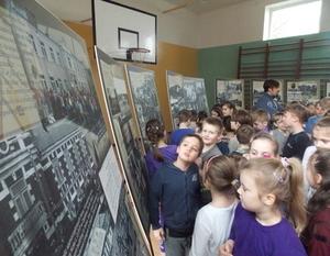 Lekcja muzealna w SP nr. 2 w Dęblinie