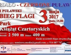 ZAPRASZAMY DĘBLINIAN DO POBIEGNIĘCIA W I BIEGU FLAGI!