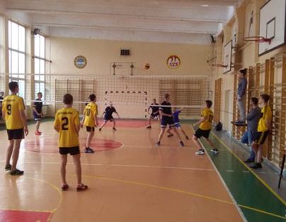Gimnazja walczyły o Puchar Dyrektora ZSZ nr 1 w Dęblinie