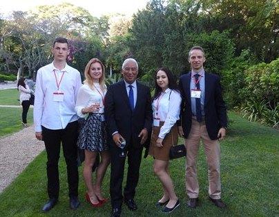 Uczniowie ZSZ nr 2 w Dęblinie z wizytą u szefa rządu republiki Portugalii