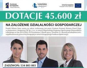 """PROJEKT """"WŁASNA FIRMA SZANSĄ NA SUKCES"""""""