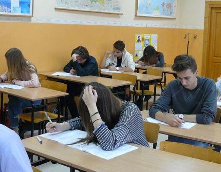 Próbny egzamin gimnazjalny i II etap konkursów przedmiotowych w ZSO w Dęblinie