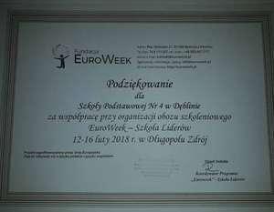EUROWEEK 2018