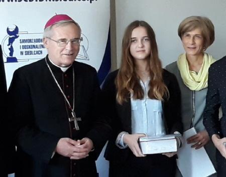Magdalena Laszczewska wyróżniona w konkursie literackim