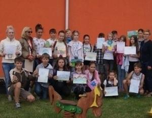 Wycieczka uczniów Szkoły Podstawowej nr 4 w Dęblinie do Centrum Ogrodniczego  w Kurowie.