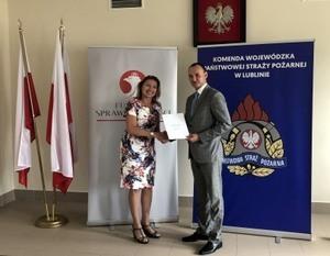 Dofinansowanie dla Ochotniczej Straży Pożarnej w Dęblinie.
