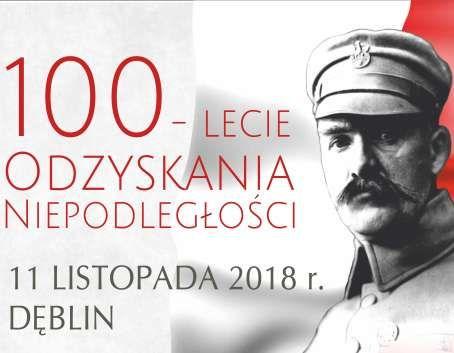 Program obchodów - 100 - Lecie Odzyskania Niepodległości