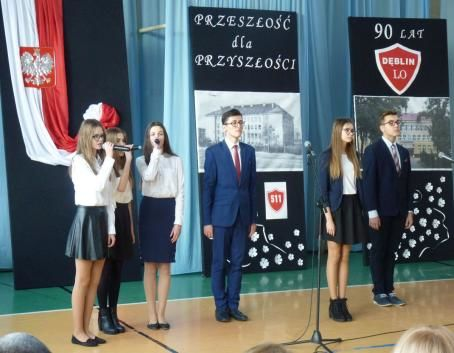 Dęblińskie Liceum Ogólnokształcące ma już 90 lat!