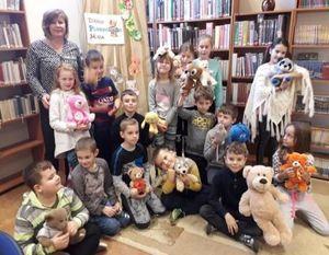 Dzień Pluszowego Misia w Miejskiej Bibliotece Publicznej