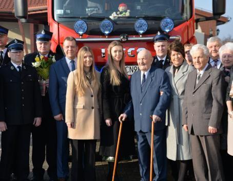 Rodzinna uroczystość z okazji 90. urodzin w Dęblinie
