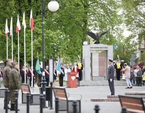 Obchody 228. Rocznica Uchwalenia Konstytucji 3 Maja w Dęblinie.