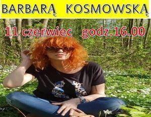Spotkanie autorskie z Barbarą Kosmowską
