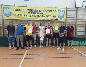 Turniej Tenisa Stołowego Dni Dęblina 2019